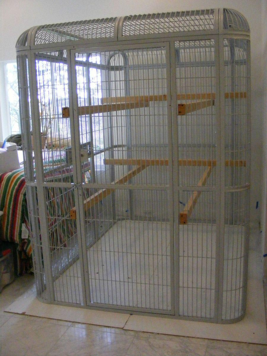 Walk In Aviary Bird Cage Birdcage Design Ideas