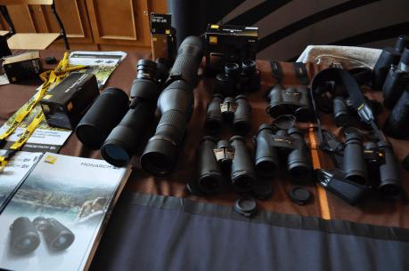 Stanowisko Nikona podczas targów Polish Bird Fair