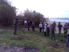 Obserwacje nad brzegiem Jeziorska (fot. Klaudia Wala)