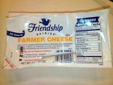 Friendship farmer cheese