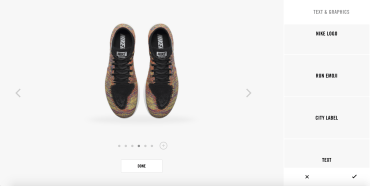 NIKE FREE FLYKNIT iD - TEXT&GRAPHICS