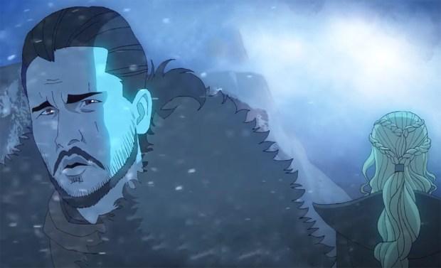 «Игру престолов» превратили в аниме