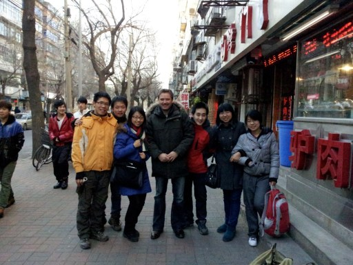Me with the Tianjin crew.  From left to right: