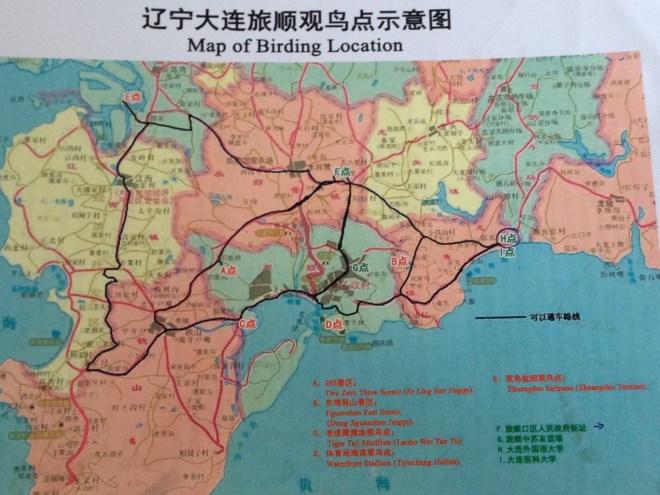 map of birding locations