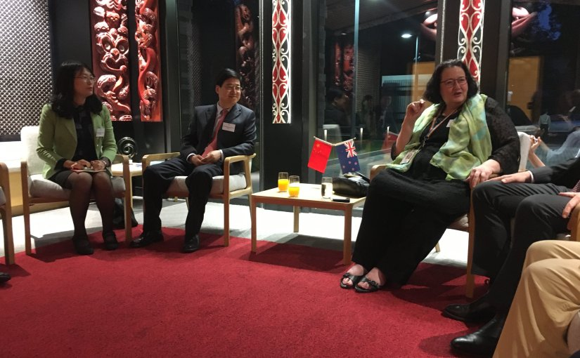 """New Zealand Ambassador to China hosts """"Friends of the Flyway"""""""