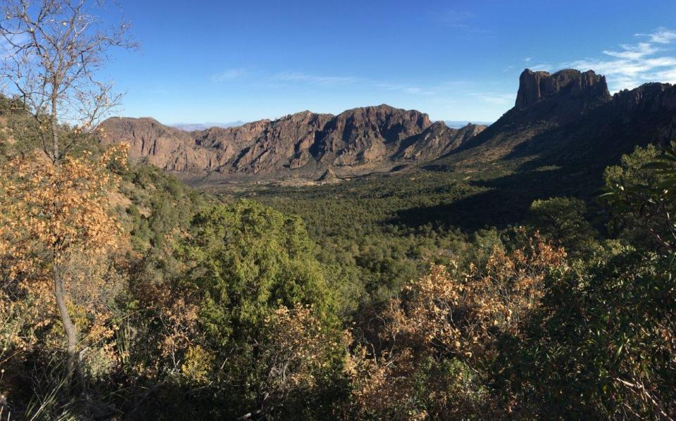 Chisos Mountains Basin