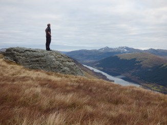 Looking over Loch Voil
