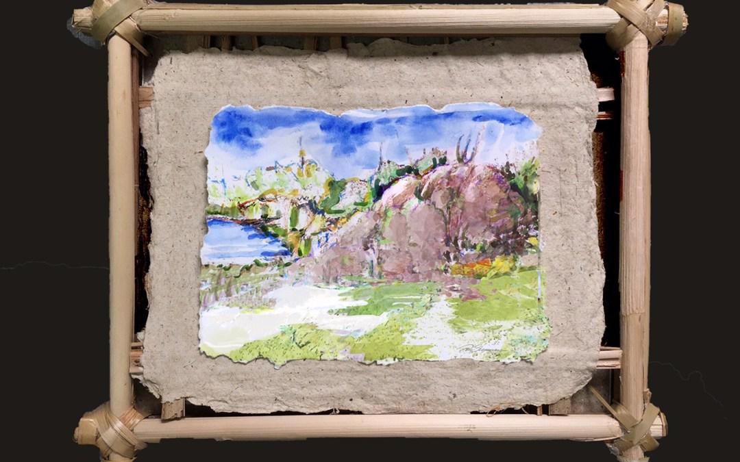 Don Sherman & Jason Frank Plant-Based Papermaking Exhibition