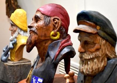 The Jim Brooks Exhibition & Woodturning Demonstration