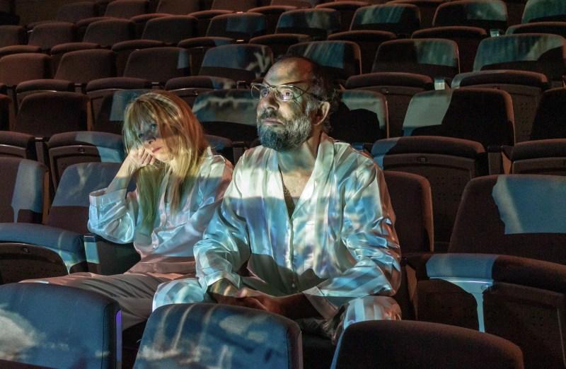 6 Oriz. Sleepless di C. Churchill regia Lorenzo Loris nella foto Elena Callegari, Mario Sala, Ph Davide Pinardi