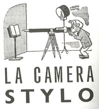 vignetta su caméra stylo