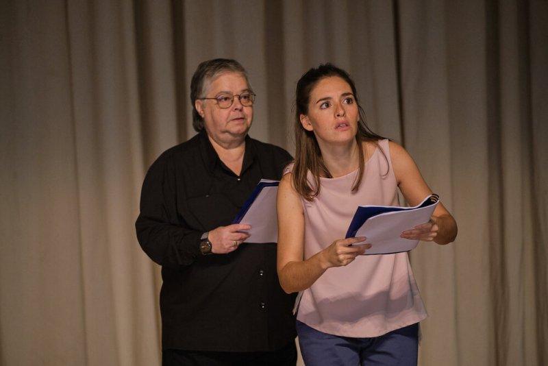 Cristina Vidal e Sara Barros Leitão in Sopro, foto di Filipe Ferreira