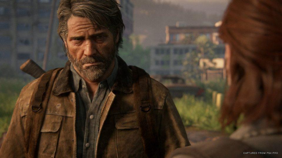 Un'inquadratura da cinema nel videogioco The Last of Us Parte II