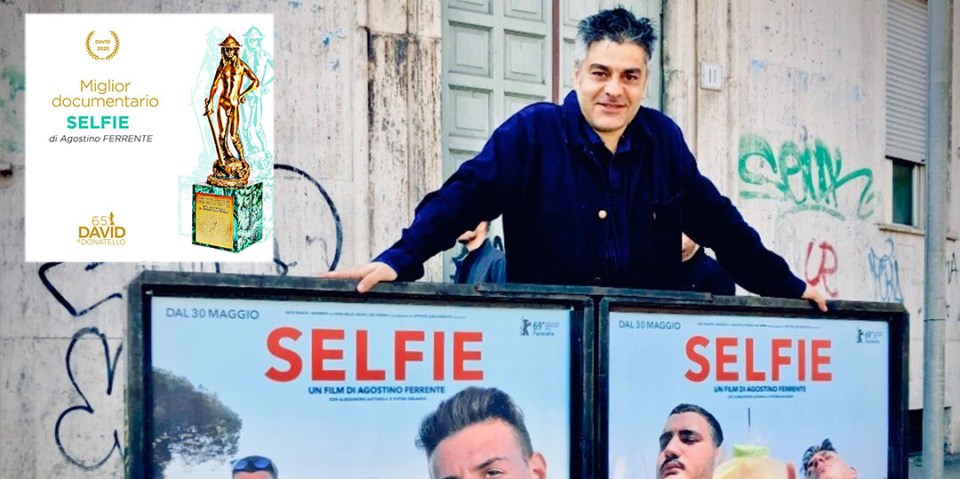 ferrente autore selfie