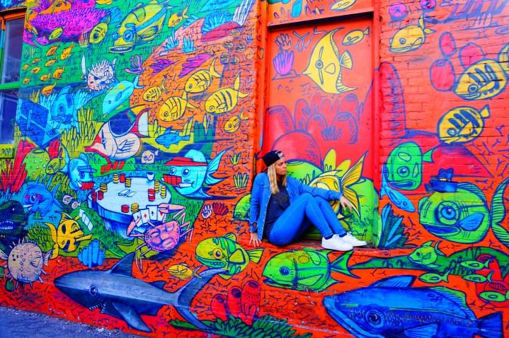 Graffiti Alley : le street art coloré de Toronto