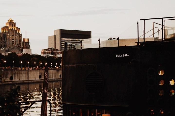 Bota Bota : bateau, massage et repos