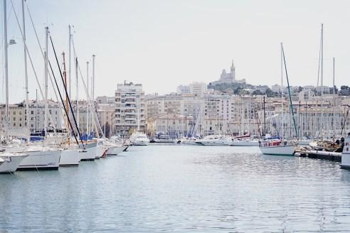 Vieux Port Notre Dame Marseille