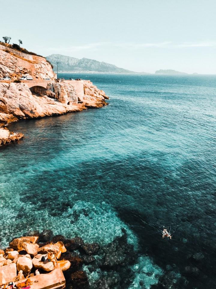 Mes spots baignades à Marseille