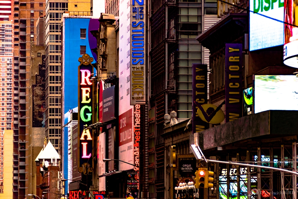 Colourful New York
