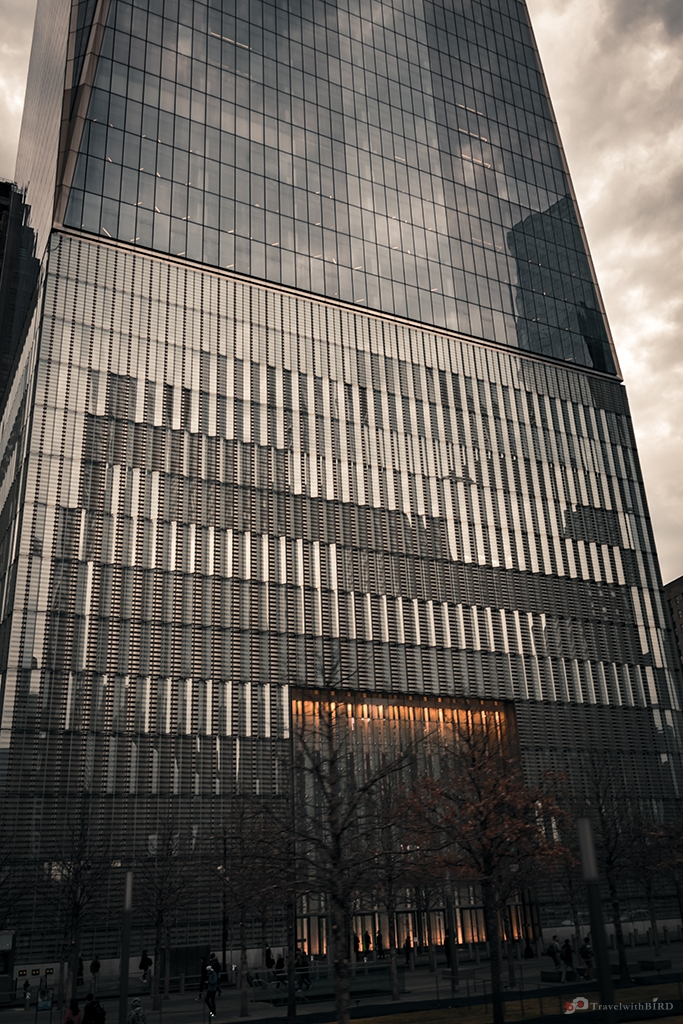 Entrance of One World Trade Center