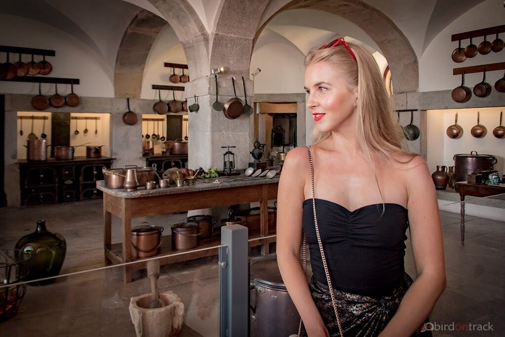 In the kitchen of Sintra