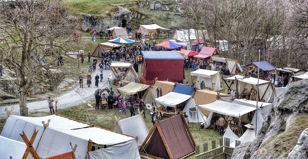 View over the Vikingfest