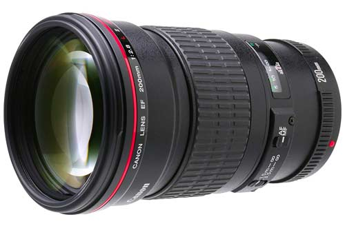 Canon EF 200mm F/2.8L Lens