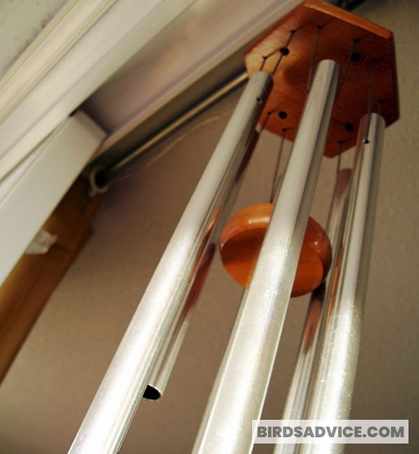 Install A Wind Chime/Pinwheel