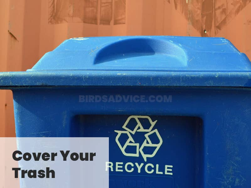 Cover your trash