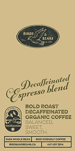 Bird Friendly Decaf Espresso