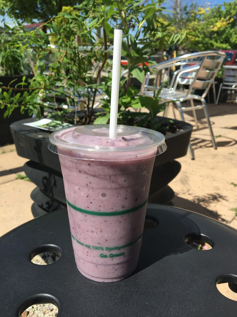 Introducing our New Organic-Fruit Smoothie!