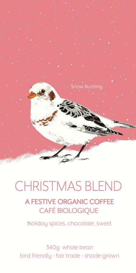 2019 Christmas Coffee: Snow Bunting