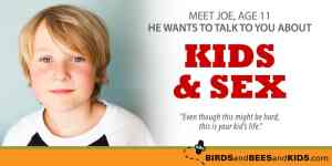 What This 11 Year Old Boy Wants You To Know About Kids and Sex Will Surprise You