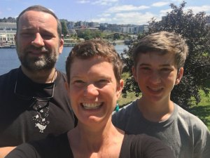 Child Sex Education Expert, Amy Lang and her family