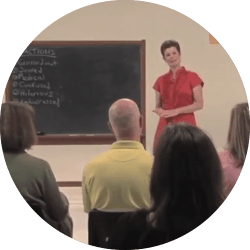 Amy Lang Teaches Parents at Home School Sex Education Workshop