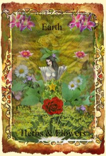 Earth Element flowers and Herbs copy