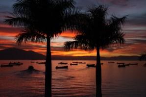 Sunset on Lake Chapala
