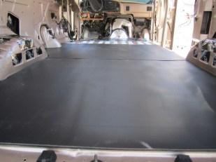Installing the mass loaded vinyl