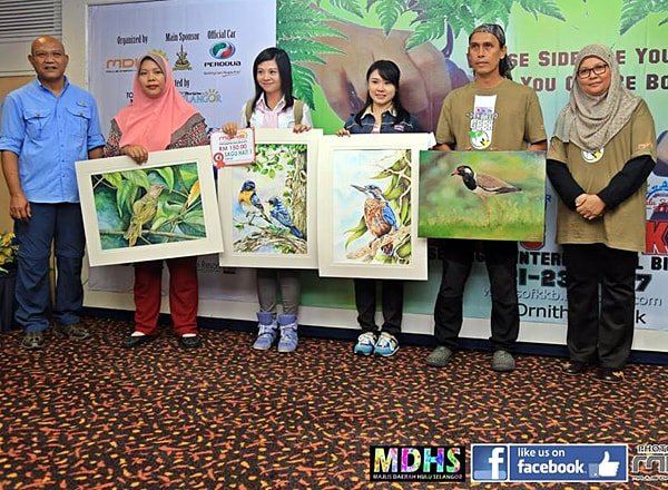 Bird Painting Contest Wings of KKB