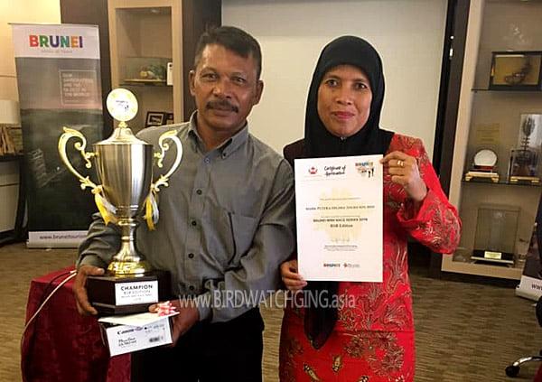 Winner Brunei Bird Race