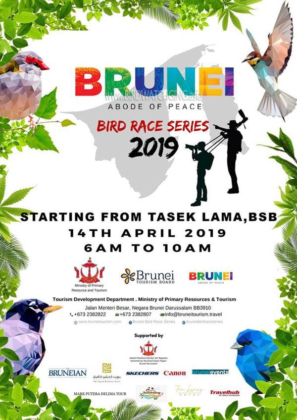 Poster Brunei Bird Race Series 2019