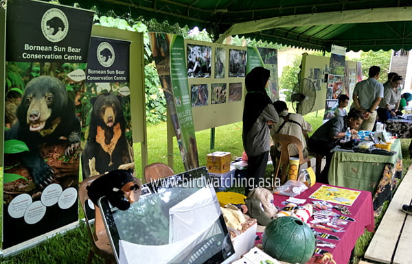 Borneo Bird Fair Vendors