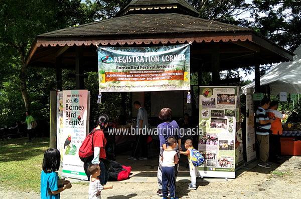 Borneo Bird Festival Resistration