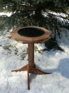 Heated Bird Bath as a Birding Present and Gift