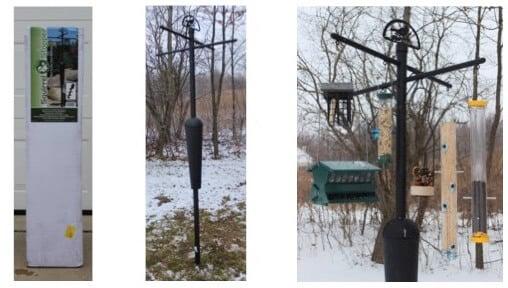 Best Squirrel Proof bird feeder pole