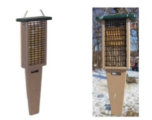 tail prop woodpecker feeders for suet