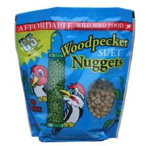 Suet nuggets for the best woodpecker feeders