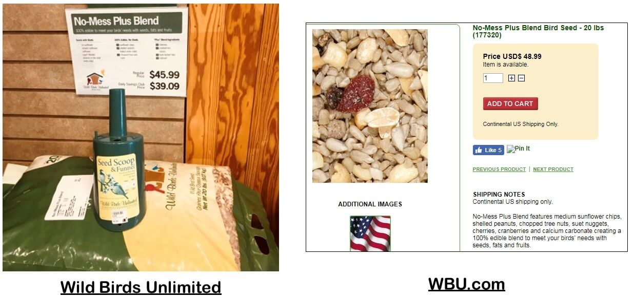 where should I buy bird food from?