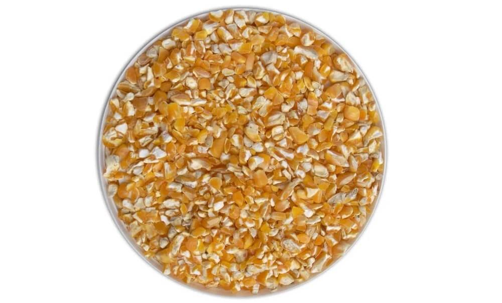 cracked corn - types of birdseed
