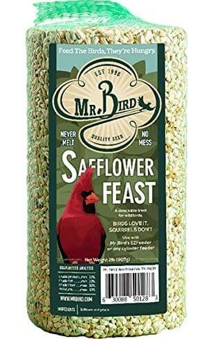 safflower seed cylinder for birds